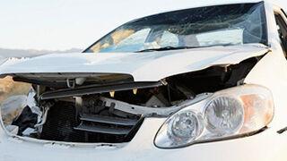 Imágenes de accidentes de tráfico en bebidas alcohólicas