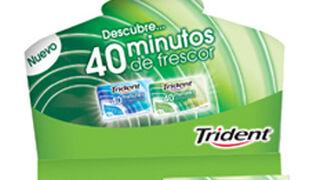 Trident garantiza 40 minutos de frescor en sus nuevos chicles