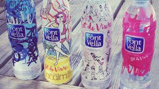 Font Vella presenta una edición de botellas diseñadas por estudiantes