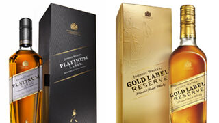 Johnnie Walker Platinum Label y Gold Label Reserve, novedades de Diageo