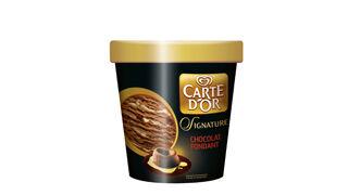 Signature, sabores de pastelería en los helados Carte d'Or