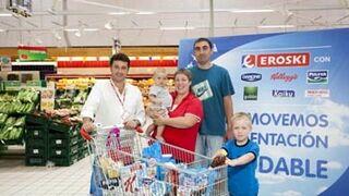 Las ventas de productos del Carro Saludable de Eroski suben el 2,9%