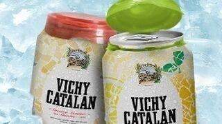 Vichy Catalán lanza agua mineral envasada en lata