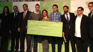 Vivesoy entrega el premio de su 'Vivero' de emprendedores