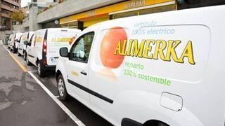 Alimerka presenta su nueva flota de furgonetas eléctricas