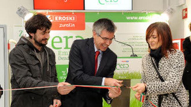 Eroski inaugura oficialmente su Tienda Cero Emisiones