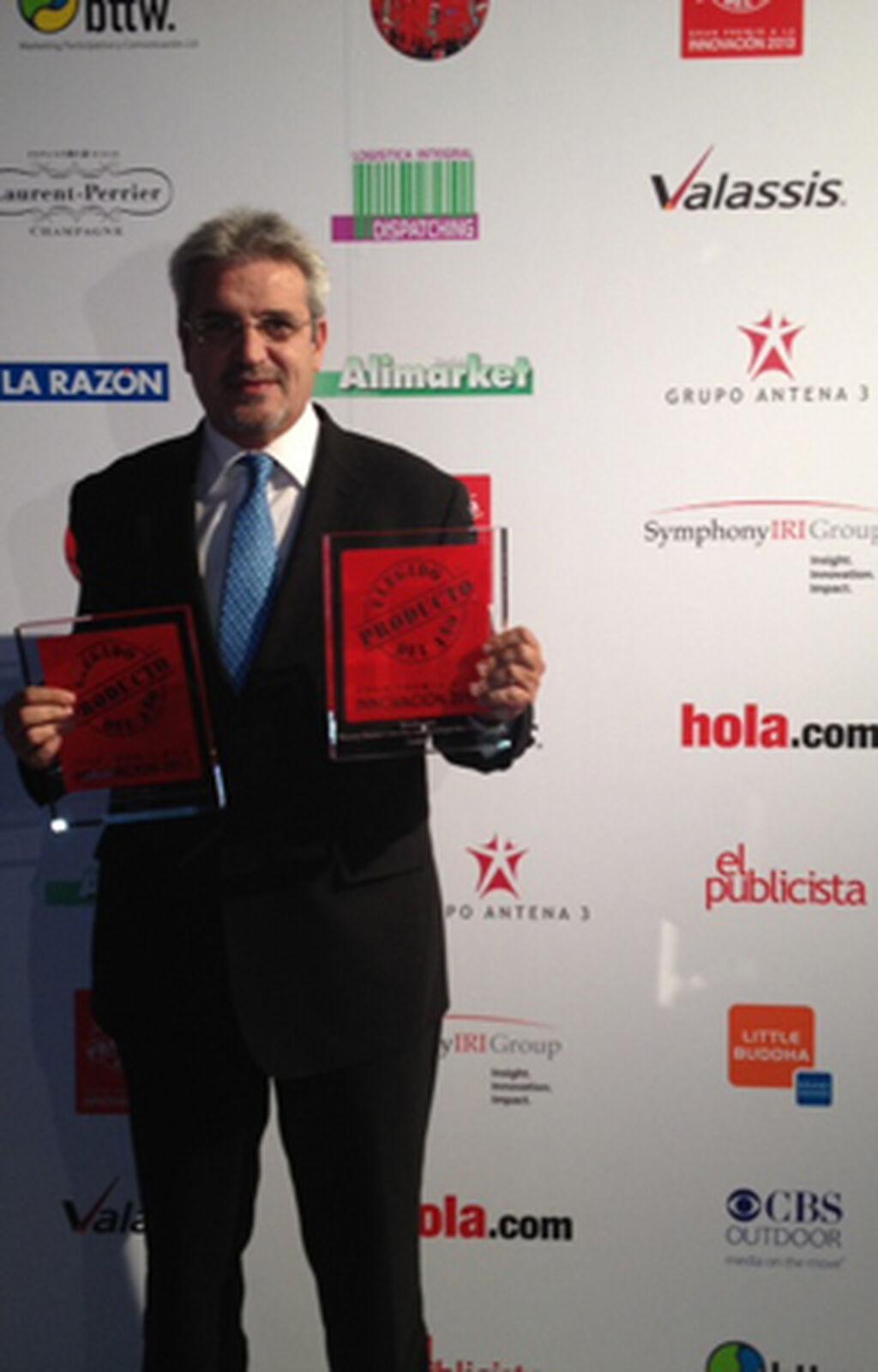 Miguel Ángel Hernando, KAM de Unilever España. Premio a Rexona Gama Ultradry con tecnología Motionsense (Desodorantes)