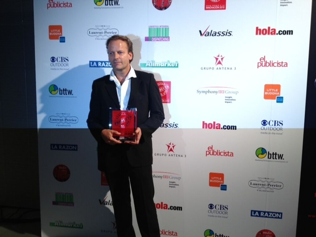 Paul Kortenoever, director de Marketing de Ángel Camacho Alimentación. Premio a Susarón Instanté (categoría Tés)