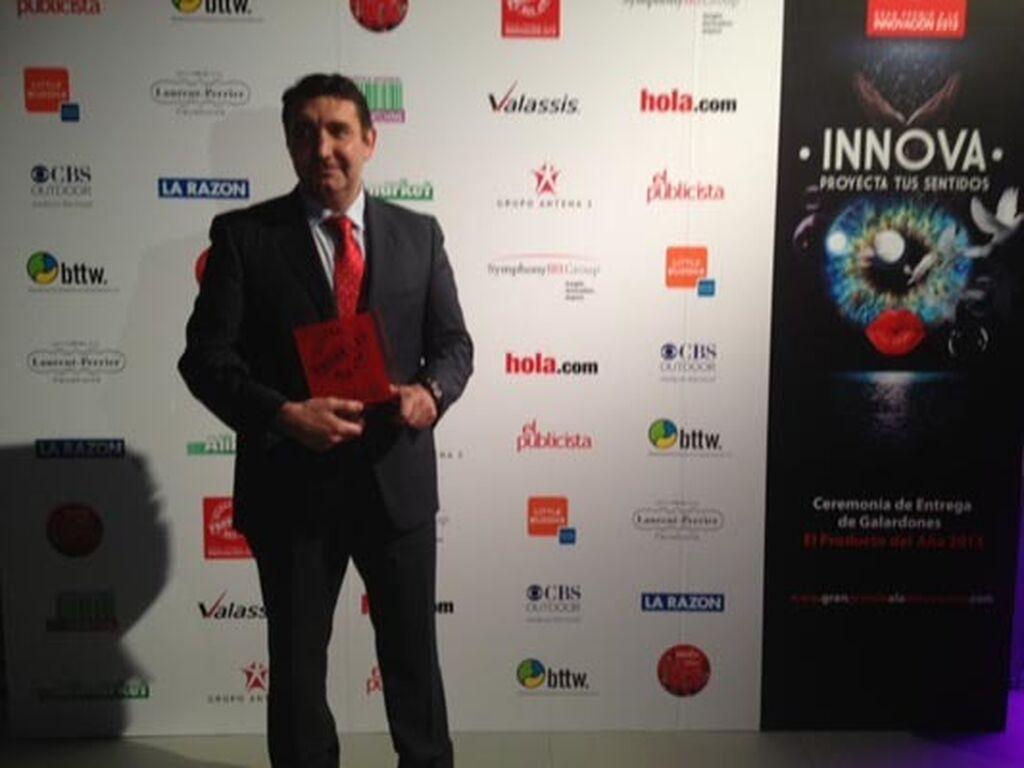 Pablo Bazco, gerente de Dr. Schär. Premio a Gama de Panes sin gluten Beiker (Productos para Celíacos)