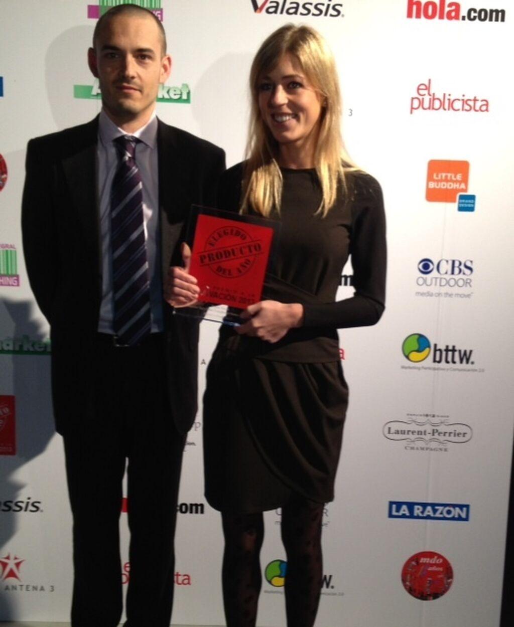 Gemma Recasens, BM Nuts de PepsiCo Foods. Premio a Cacahuetes Sal y Miel tostados al horno de Matutano (Frutos Secos)