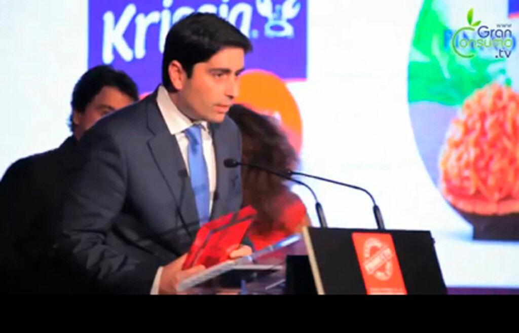 Rodrigo Ortiz, KAM de Angulas Aguinaga. Premio a Pintxos a la Donostiarra y Marisco de Krissia (categoría Preparados de Pescado)
