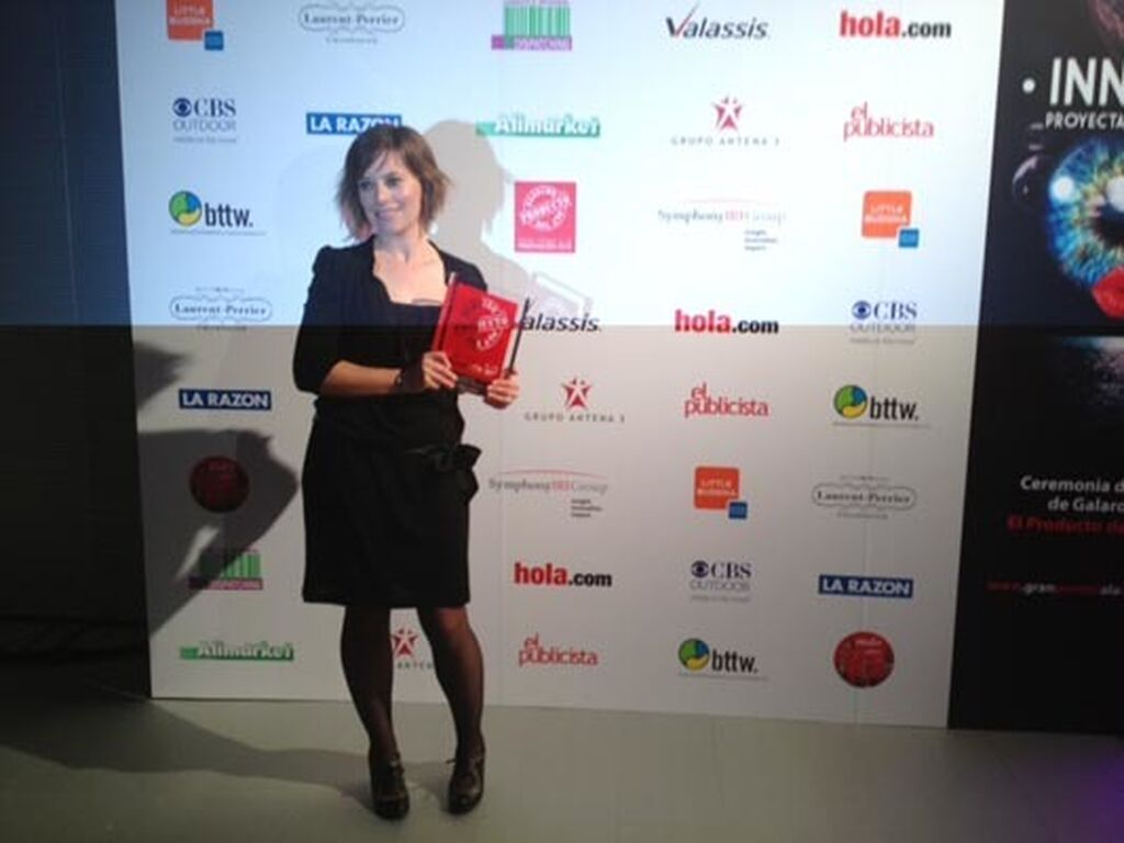 Estelle Ribeiro, de SCA Hygiene Products. Premio a TENA Protective Underwear (Incontinencia)