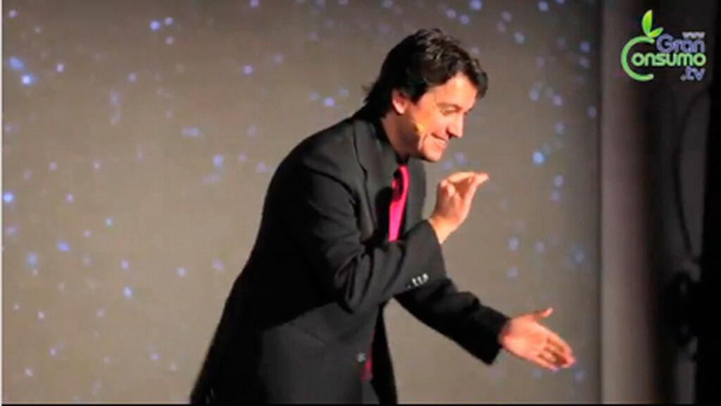 La gala fue copresentada por el humorista Javier Veiga