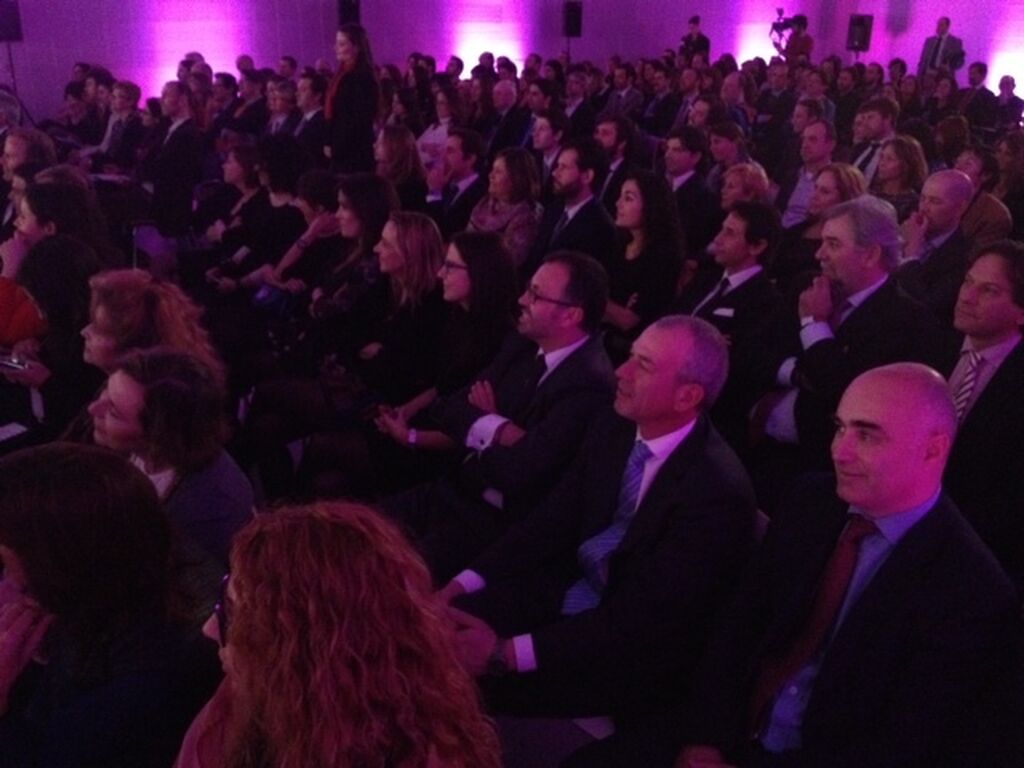 El público de la ceremonia de entrega de El Producto del Año 2013