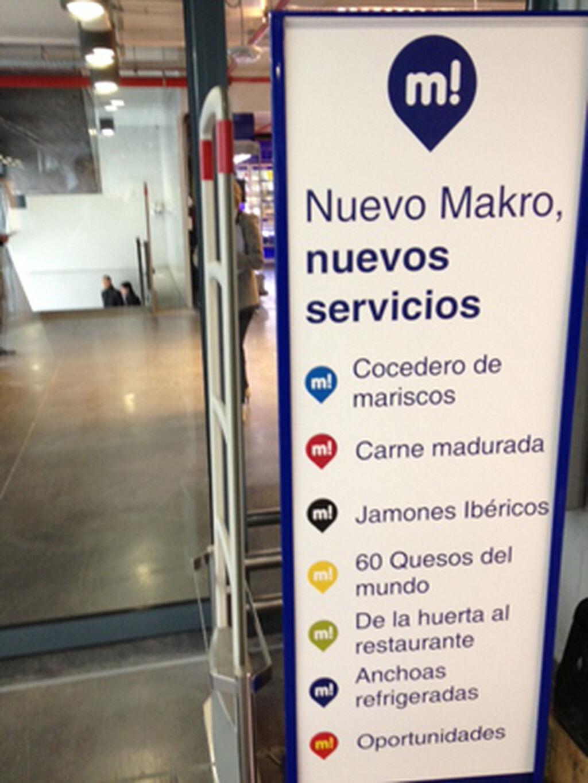 Los nuevos servicios del nuevo Makro City resumidos