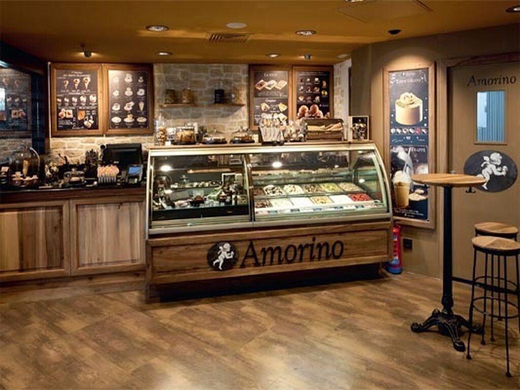 Amorino, helados y dulces italianos naturales