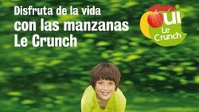 Manzanas Le Crunch inicia una campaña promocional en España