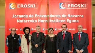 Eroski se reúne en Pamplona con 150 proveedores navarros