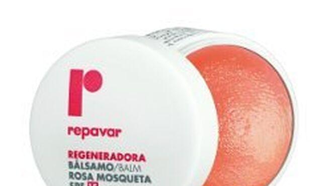 La gama labial de Repavar incorpora aceite de rosa mosqueta