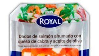 Nuevos dados de salmón Royal para ensaladas y entrantes