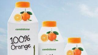 SIG Combibloc presenta combidome, una botella hecha de cartón