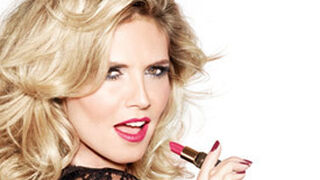 Heidi Klum crea una colección de barras de labios con Astor