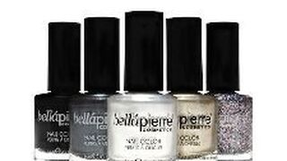Esmaltes de uñas sin tolueno de Bellápierre Cosmetics