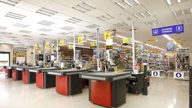 El supermercado de grandes dimensiones, en auge al crecer el 4%
