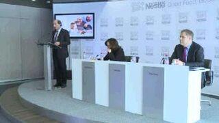 Nestlé registra su menor crecimiento en los últimos tres años