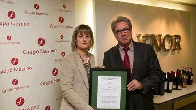 Grupo Faustino logra la certificación de huella de carbono en seis bodegas