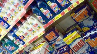 El volumen de ventas de detergentes a máquina crece el 1,9%
