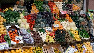 El consumo de fruta fresca aumentó el 2,7% en 2012