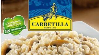 Carretilla amplía su catálogo con los risottos de setas y parmesana