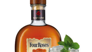 Four Roses Small Batch, whisky para tomar en tarro de mermelada
