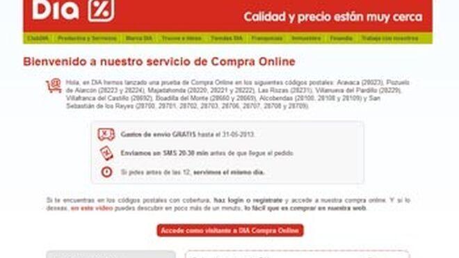 Dia lanza su tienda online en Málaga