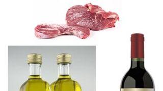 Carne de cerdo, vino y aceite de oliva copan un tercio de las exportaciones