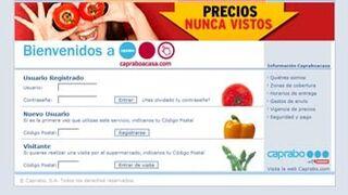 Caprabo mejora en cinco puntos su cuota online frente a la offline