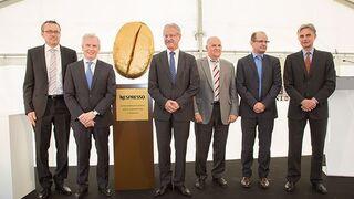 Nespresso comienza las obras de su centro de producción en Romont (Suiza)