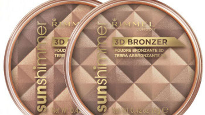 Bronceado natural con Sunshimmer 3D Bronzer de Rimmel London