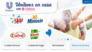 Unilever venderá online con la colaboración de Ulabox