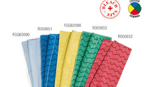 Nuevas bayetas de microfibra de Rubbermaid Commercial Products