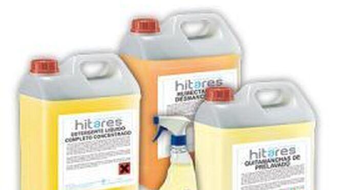 Hitares lanza al mercado su gama de detergentes y suavizantes