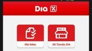 Dia lanza una app para gestionar la compra desde el móvil