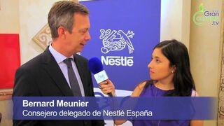 Entrevista a Bernard Meunier, consejero delegado de Nestlé España