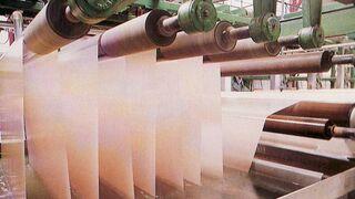 El uso de agua para fabricar papel cayó el 4% en 2012
