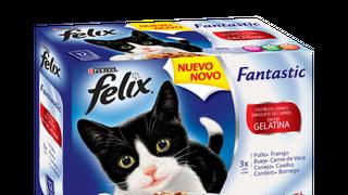 Felix Fantastic añade a su comida para gatos dos nuevos sabores