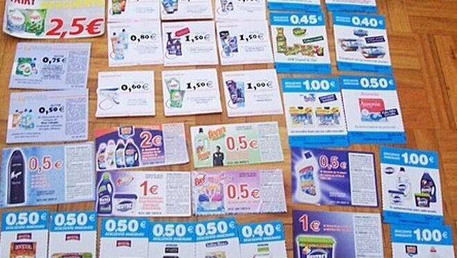 92068d3d7d El reparto de cupones descuento aumenta el 36% hasta junio
