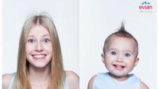 Evian crea una app que devuelve las fotos personales en forma de bebé