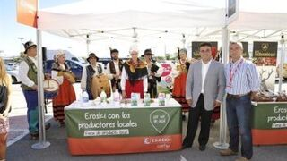 Eroski promocionará en septiembre más de 300 productos vascos