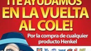 Henkel sortea 500 euros al día entre sus clientes